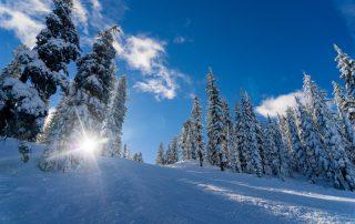 Skiing in Maggie Valley, North Carolina